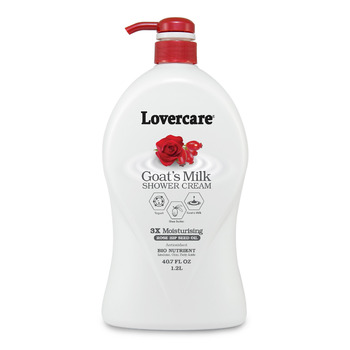 Lover's Care Shower Cream 1200ml ROSE HIP SEED OIL