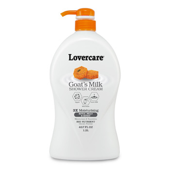 Lover's Care Shower Cream 1200ml ROYAL JELLY & HONEY