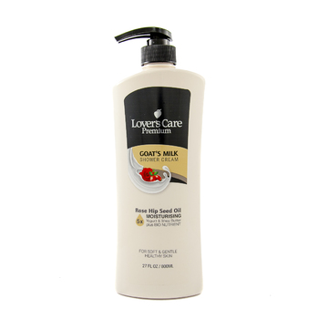 Lover's Care Premium Shower Cream 800ml ROSE HIP SEED OIL