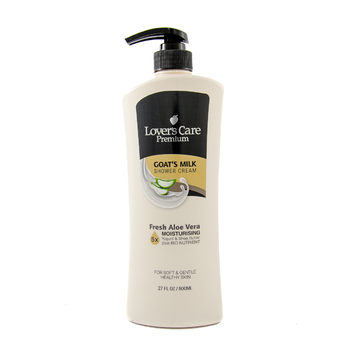 Lover's Care Premium Shower Cream 800ml FRESH ALOE VERA