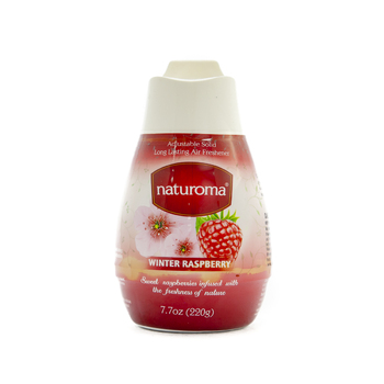 Naturoma Air Freshener Solid Gel 220g Winter Raspberry