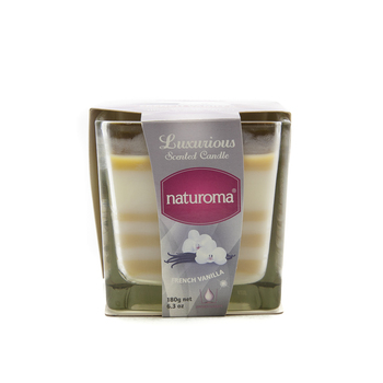 Naturoma Air Freshener Scented Candles 180g French Vanilla