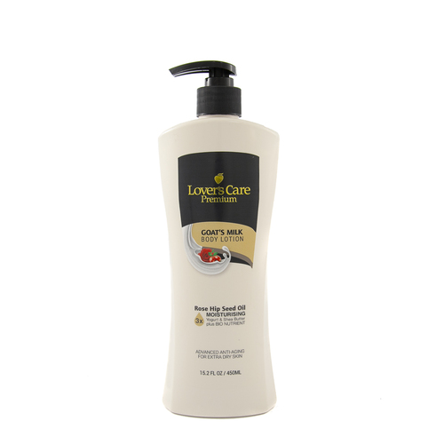 Lover's Care Premium Body Lotion 450ml ROSE HIP SEED OIL