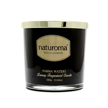 Naturoma Royal London Luxury Scented Candles PARMA WATERS 380g
