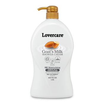 Lover's Care Shower Cream 1200ml ALMOND OIL & COCOA BUTTER