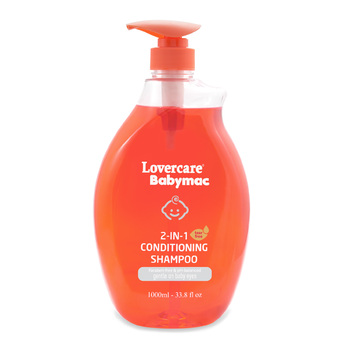 Lovercare Babymac 2in1 Conditioning Shampoo 1L