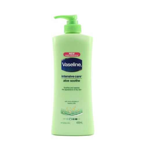 Vaseline B/Lotion 400ml Aloe x 16