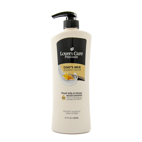 Lover's Care Premium Shower Cream 800ml ROYAL JELLY & HONEY